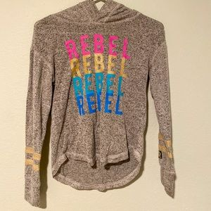 STAR WARS grey sweater with colorful accents